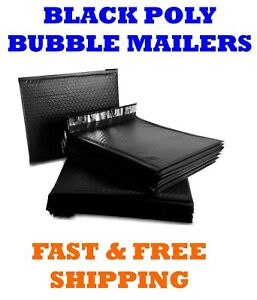 #000 4x8 Poly Bubble Mailers Padded Envelopes Mailing Shipping Bags AirnDefense