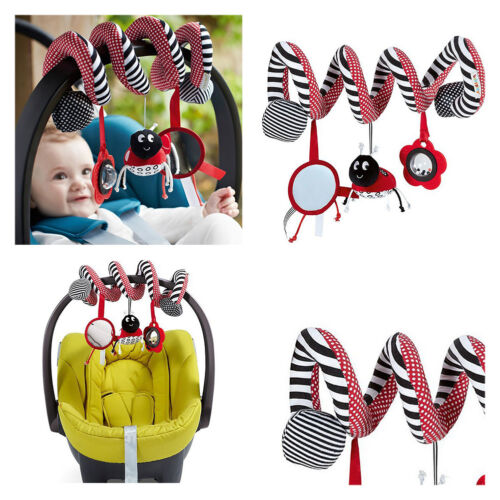 KINDERWAGEN Spielzeug Spirale für Kinderwagen Babyschale Baby Bett Neu