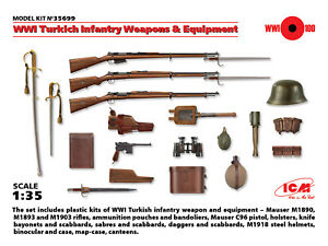 Icm-1-35-1ere-GM-Turkish-Infanterie-Armes-amp-Equipement-35699