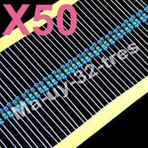 x50-RESISTENCIAS-PELICULA-DE-METAL-470ohm-1-4W-para-12V-Diodos-Led-de-3V