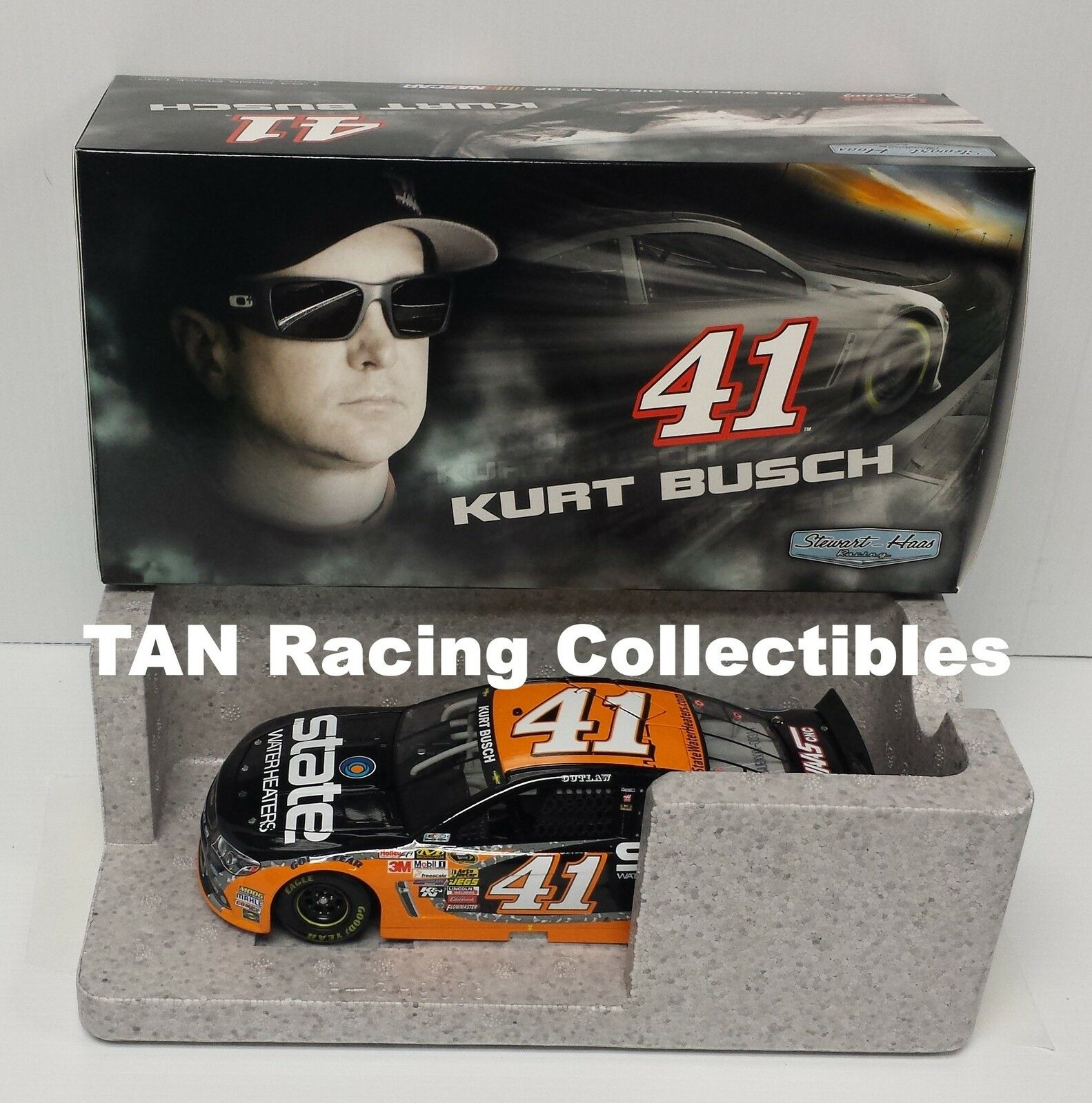 Kurt Busch 2015 Lionel Collectibles  41 State Water Heaters Chevy 1/24 FREE SHIP