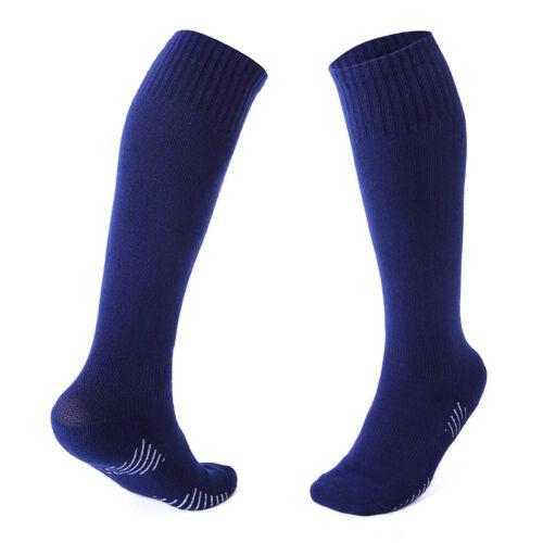 Kids Boys Sport Football Soccer Long Socks Knee High Basketball Baseball Hockey