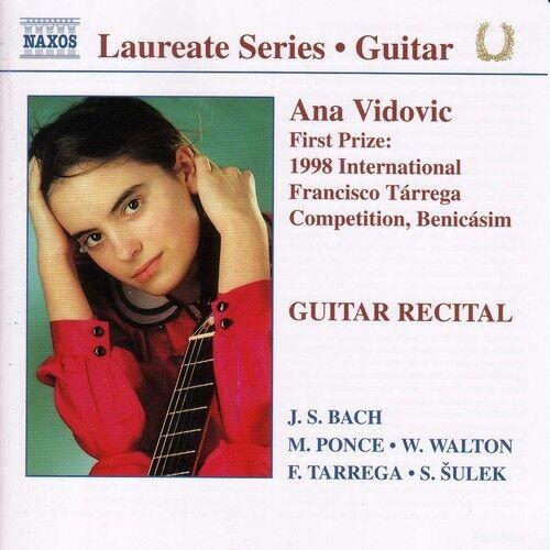 Ana Vidovic - Ana Vidovic Guitar Recital [New CD]