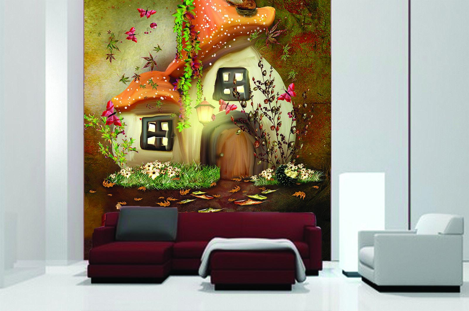 3D Anime House 409 Wallpaper Murals Wall Print Wallpaper Mural AJ WALL AU Kyra