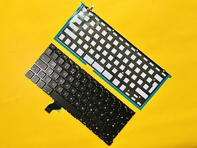 "Norway Norwegian Keyboard Backlight For Macbook Pro Retina 13/"" A1502 2013-2015"