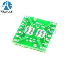 20pcs Ic Sop14 Ssop14 Tssop14 Dip 065127254mm Adapter Pcb Board Converter