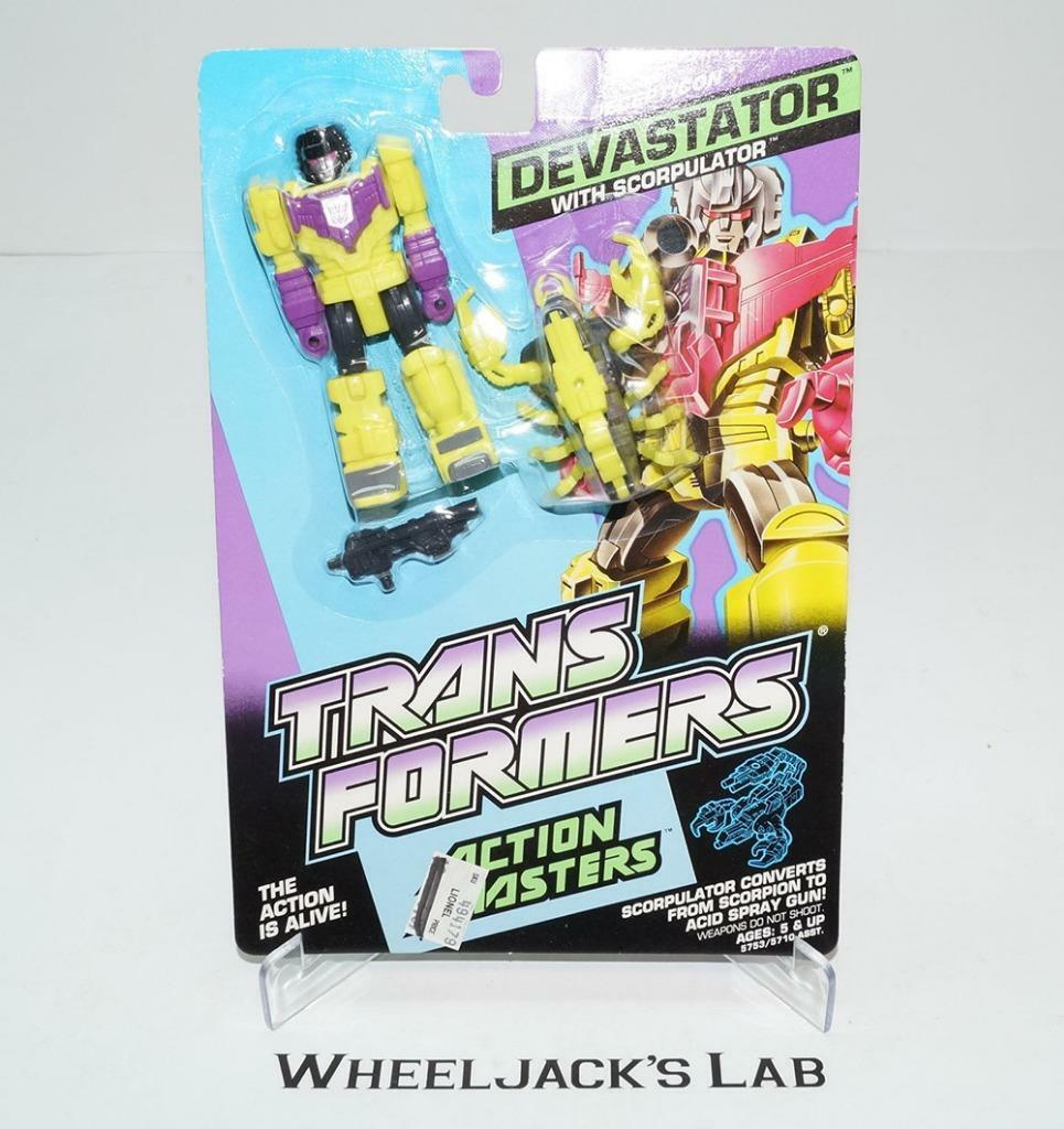 Devastator MOSC Sealed 1990 Vintage Hasbro G1 Transformers Action Master