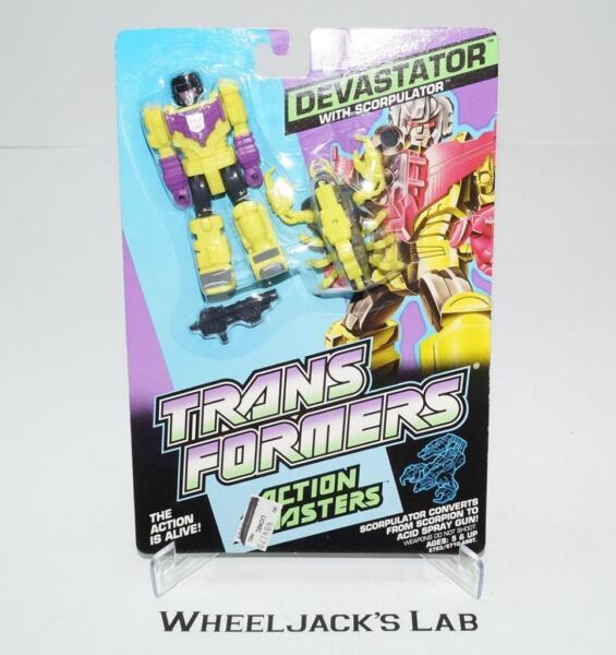 100% Vrai Devastator Mosc Scellé 1990 Vintage Hasbro G1 Transformers Action Master