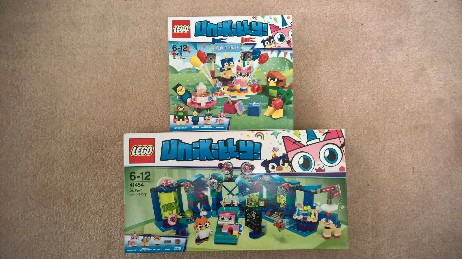 LEGO 41453 41453 41453 AND 41454 - UNIKITTY - PARTY TIME & DR FOX - BRAND NEW   SEALED - - f1712b