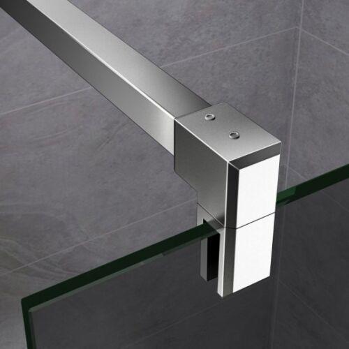 8//10mm Walk In Dusche Rauchglas Duschkabine Duschabtrennung Duschwand Nano Glas