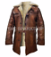 Dark-Knight-Rises-Bane-Real-Leather-Shearling-Brown-Ginger-Trench-Coat-BIG-SALE thumbnail 1