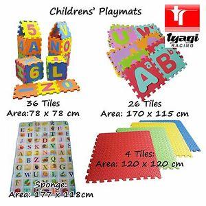 Play-Tapis-Sol-Enfants-Doux-Eponge-de-Jeux-Numeratie-Literacy-Education