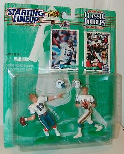 NFL-Starting-Lineup-1997-Classic-Doubles-Dan-Marino-Bob-Griese-Football-Figure