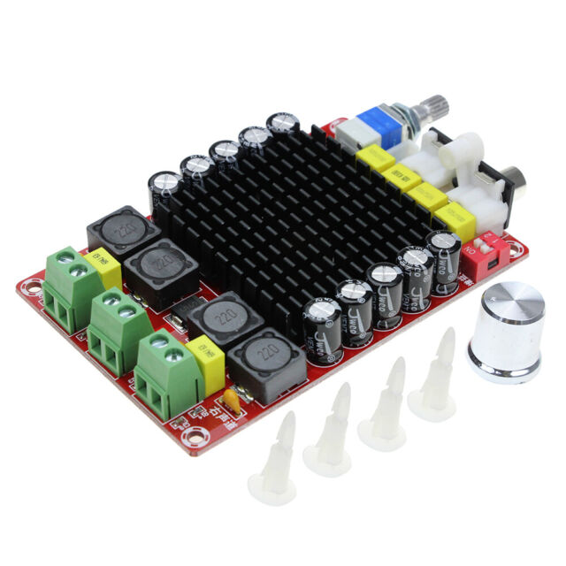 2X100W Board Audio Stereo Amplifier Dual-channel Module Receiver TDA7498