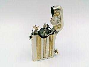 Beautiful-Thorens-Petrol-Lighter-Fully-Overhauled-Swiss-Made-Very-Good-Condition