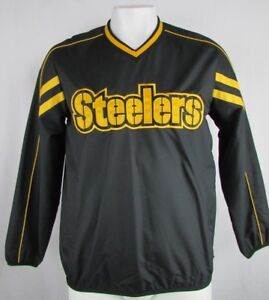 Image is loading Pittsburgh-Steelers-Men-039-s-GIII-Pullover-Windbreaker- fedd8408c2054