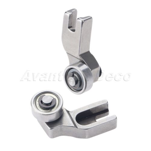 1Pc//1Set Sewing Machine Template Left//Right Single Roller Presser Dia 13mm