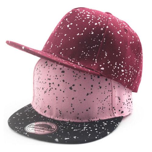 Kids Baby Girls Snapback Adjustable Hip Hop Dance Caps Casual Sun Protection Hat