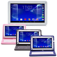 """iRULU 10.1"""" 16GB Android 6.0 Quad Core Touch Screen WiFi Tablet PC w/ Keyboard"""