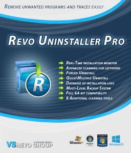 Revo-Uninstaller-Pro-Version-3-For-1-PC-Users-Lifetime-License
