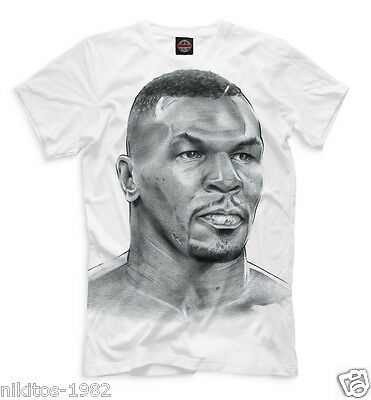 Cool T-shirt Boxer champion Mike Tyson Iron Mike King KO Full print PB mod 7