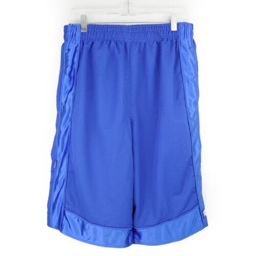 ProClub 5XL Basketball Shorts Mesh Big and Tall Blue Long Heavy Weight