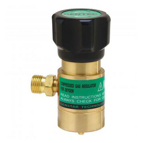 Gentec GRST-X Little Torch Preset Oxygen Regulator Use With Disposable Tank