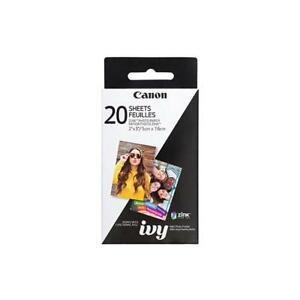 Canon ZINK Photo Paper Pack For Canon IVY Mini Photo Printer - 20 Sheets