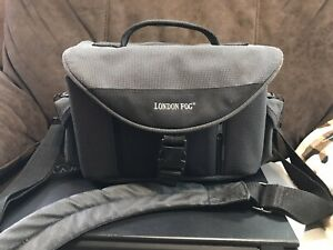 London Fog Camera Bag Carrying Case Or Purse 13 By 8in Ebay