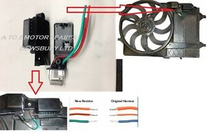 bmw mini one cooper s 1 6 r50 r53 radiator coolin fan. Black Bedroom Furniture Sets. Home Design Ideas