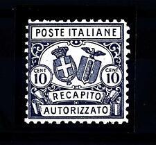 ITALIA - Regno - Rec. autor. - 1928 - Stemma in ovale