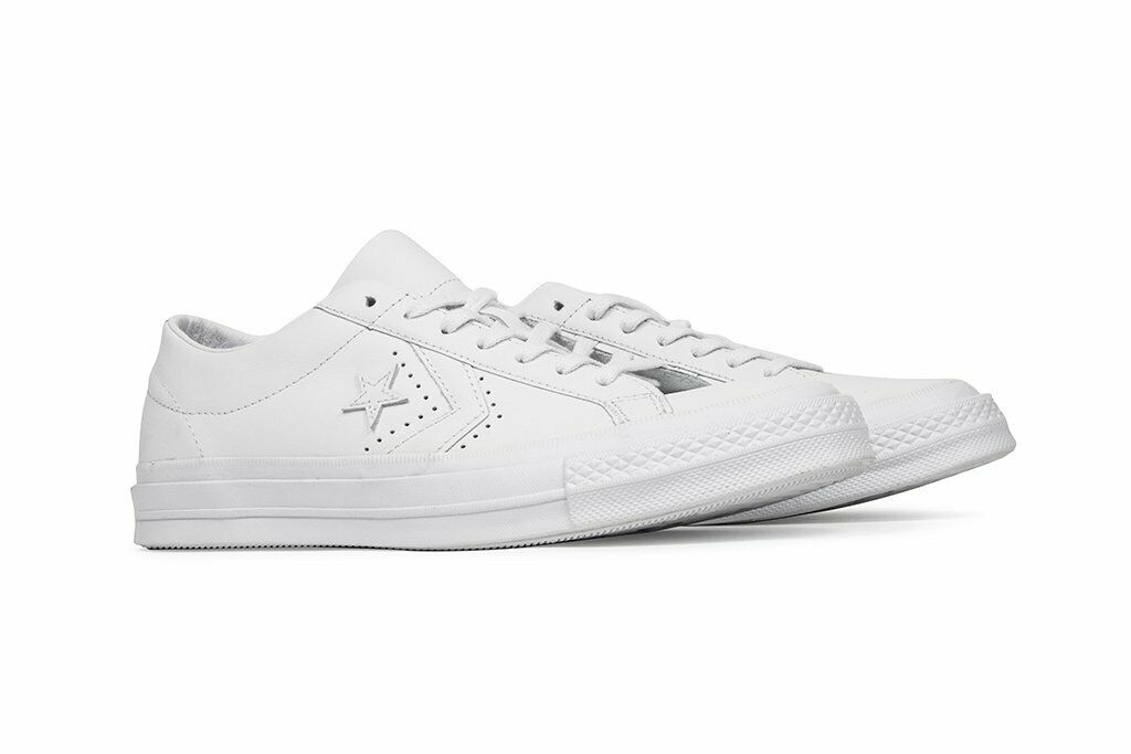 Converse X Engineerouge Garments Homme One Star Ox Cuir 160282 C blanc Sz 7 - 8.5