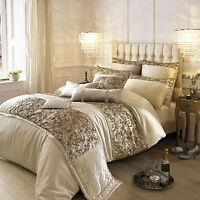 Kylie Minogue Bedding Range ALEXA Gold - Duvet / Quilt Cover, Cushion or Runner