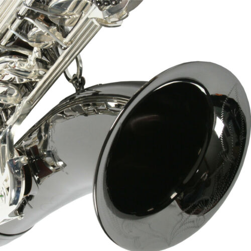 Karl Glaser Tenor Saxophon KG 275 NT schwarz vernickelt versilb Klappen Koffer
