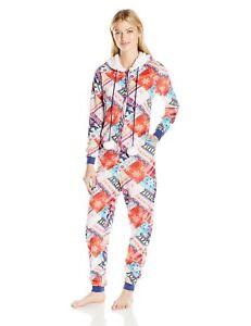 New-Saint-Eve-Women-039-s-Microfleece-Ugly-Christmas-Sweater-Pjs-Pajama-Large