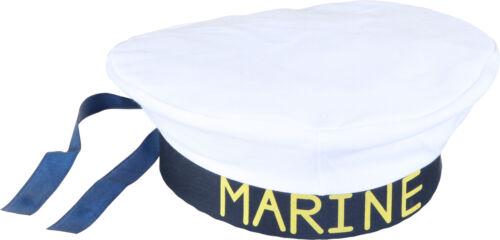 Marine Mütze zum Matrosen Kostüm an Karneval Fasching Orl