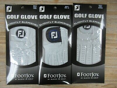 3 NEW FOOTJOY FACTORY SECONDS BLEMISHED