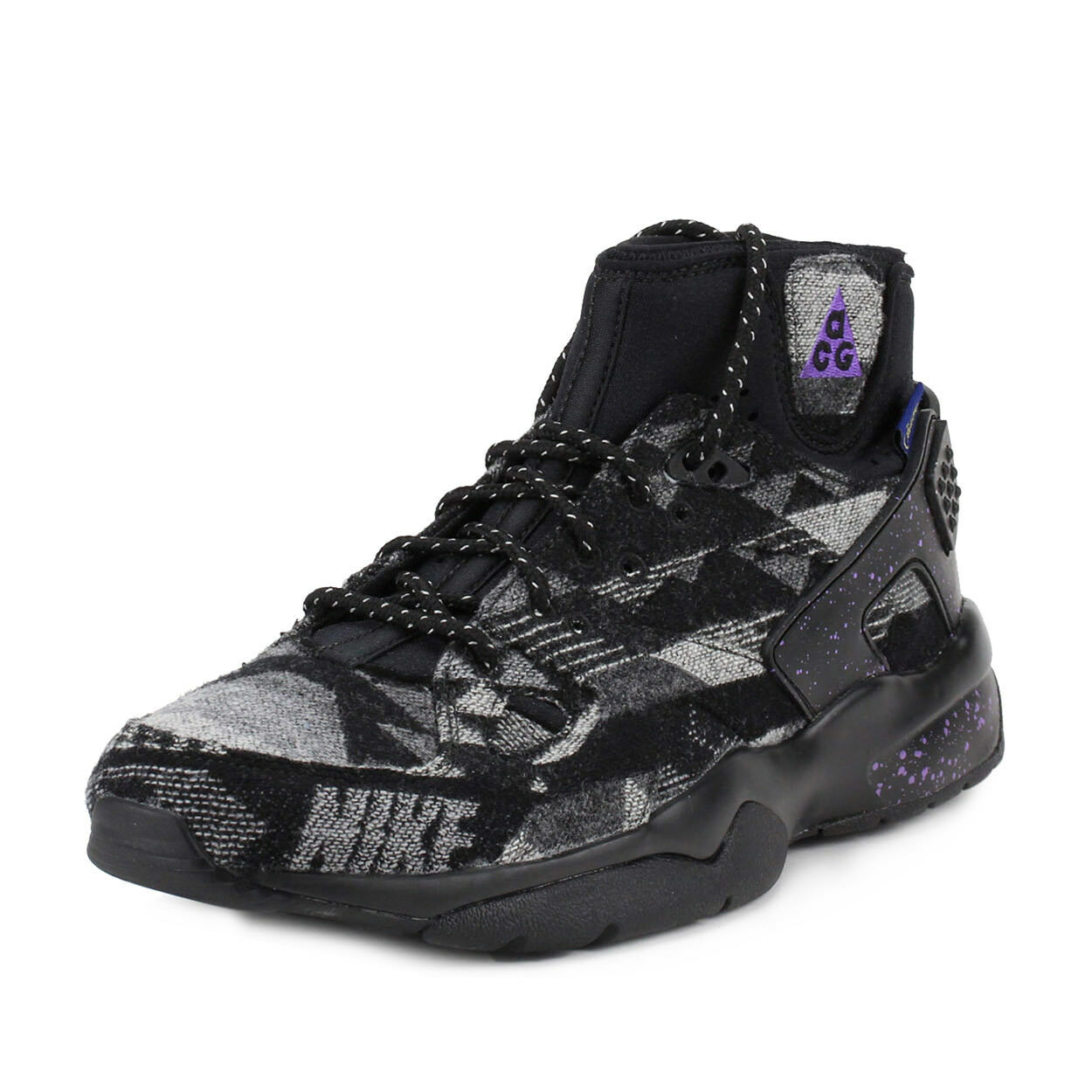 Nike Mens Air Mowabb by BDGA Black Grey HO17-MNSELB-886 EXTREMELY LIMITED