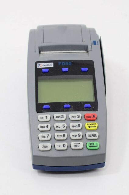 First Data FD50Ti Credit Card Terminal