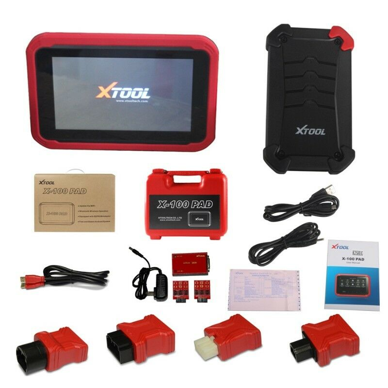 XTOOL X-100 PAD Tablet Key Programmer With EEPROM Adapter Support Special  Functions | City Centre | Gumtree Classifieds South Africa | 155529674