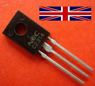 10PC 2SC2314 C2314 TO-126 Transistor Power Tube #