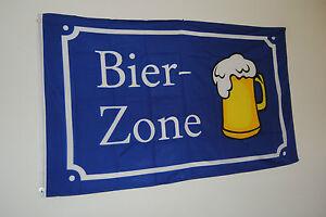 FAHNE-FLAGGE-3690-BIERZONE-HOBBY-FREIZEIT-GARTEN-FAHNENMAST-STREBERGARTEN-NEU