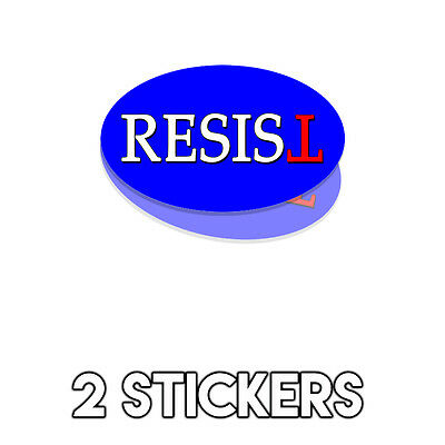 Anti Trump Bumper Sticker Decal 20 Pack DND Trump Making America Hate Again