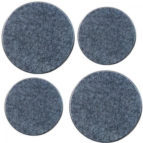 Granit Noir Set de 4 Reston Lloyd Electric Stove Burner Couvre