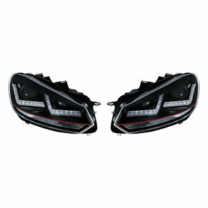 Scheinwerfer-LEDriving-Xenarc-GTI-Golf-VI-LED-Tagfahrlicht-D8S-Xenon-2St-Osram