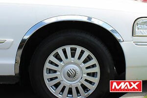 FOR 98-02 Mercury Grand Marquis GS Sedan 4-Door Fender Trim
