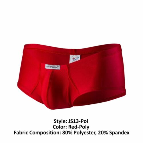 Joe Snyder JS13-Pol Polyester Cheek Boxer Color Red-Poly