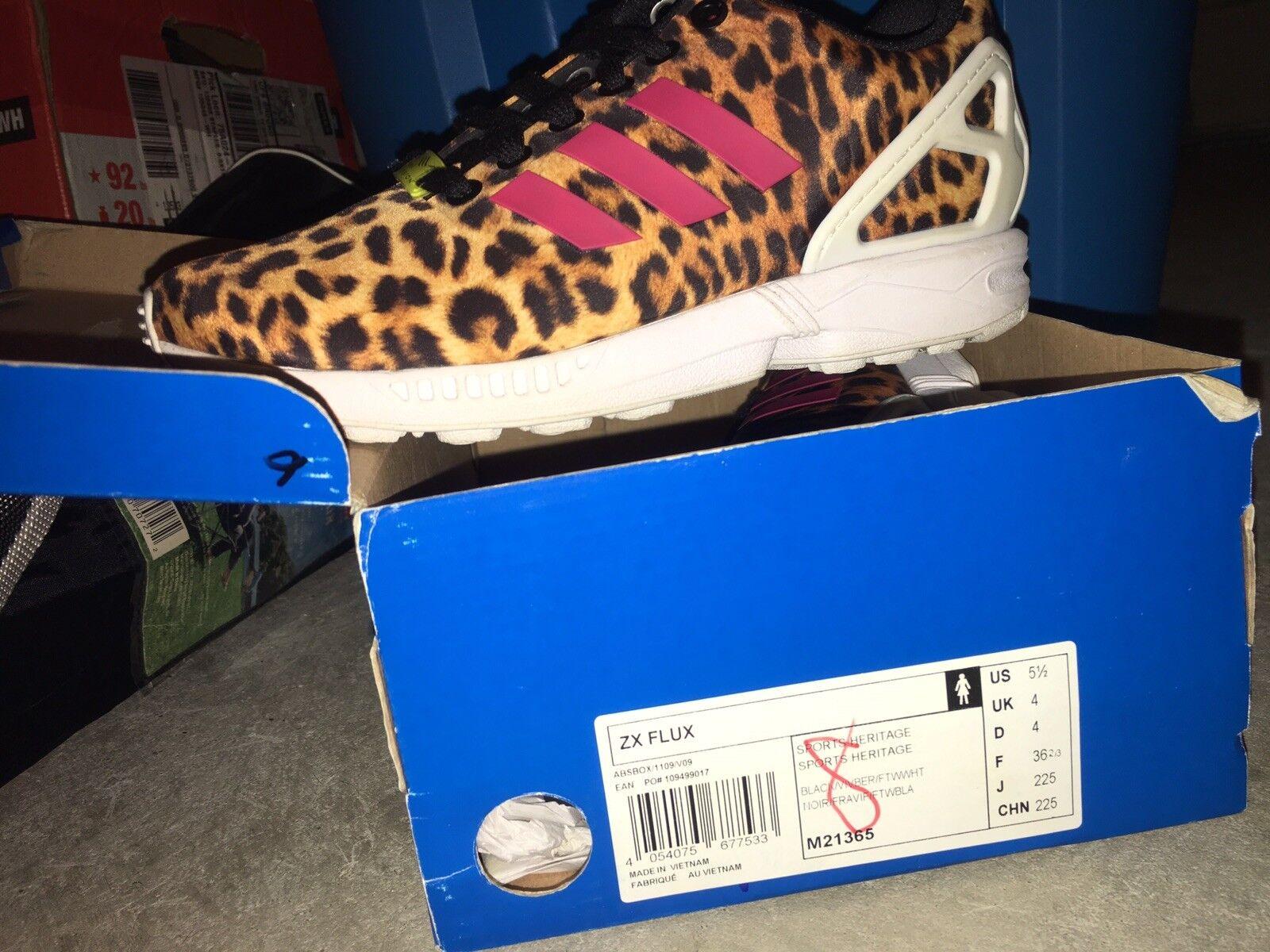 adidas zx flux Cheetah women's shoe Nike air Jordan Retro Yeezy bape Supreme lot Brand discount