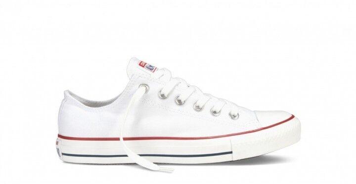 Scarpe sportive uomo/donna Converse All Star OX M7652C optical white tela bassa
