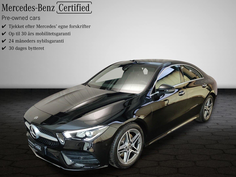 Mercedes CLA200 1,3 Advantage AMG aut. 4d - 459.900 kr.